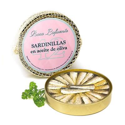 Petites sardines à l'huile d'olive Rosa Lafuente