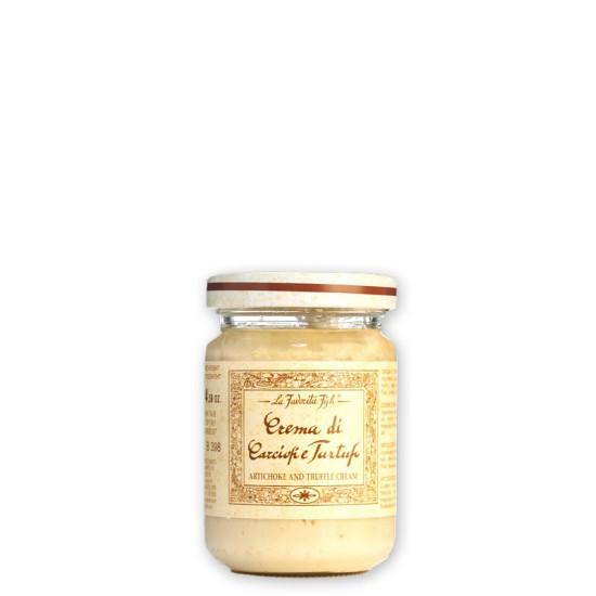 Crème d'artichauts à la truffe