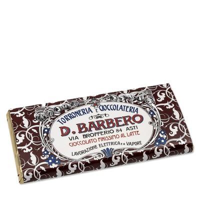 Tablette de chocolat au lait Barbero