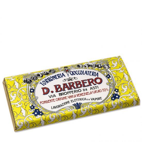 Tablette de chocolat 72% Vénézuela Barbero