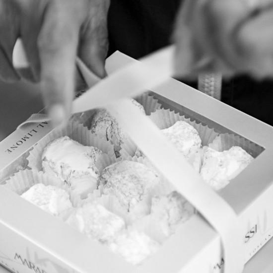 Amaretti morbidi aux amandes