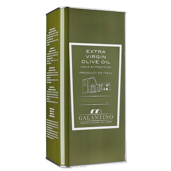 Spécialité d'huile d'olive et basilic 5 litres