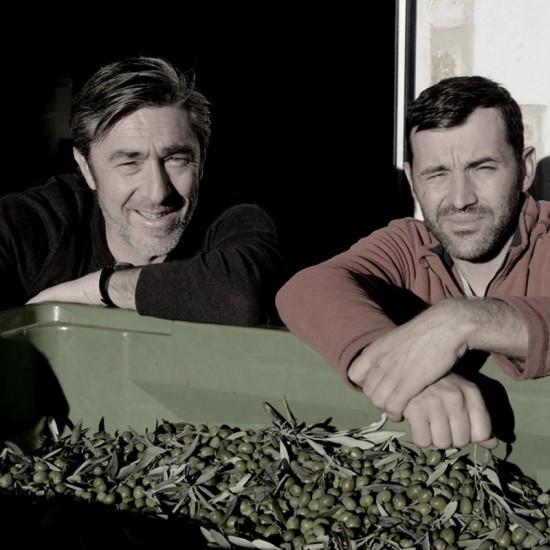 Magnanerie Eric Martin Vincent Estrade huile d'olive