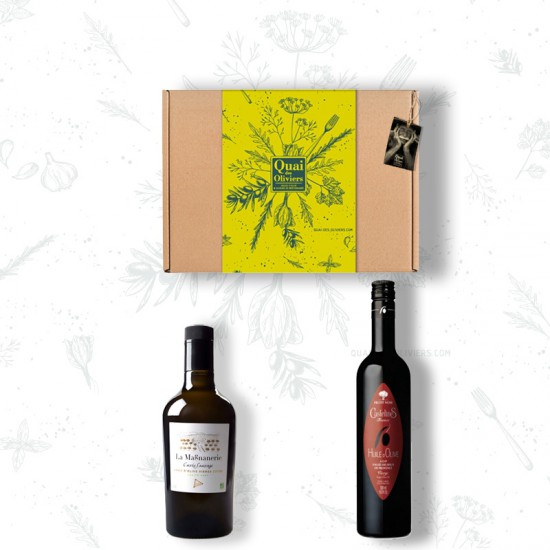 EXPRESSION PROVENCE coffret 2 huiles d'olive