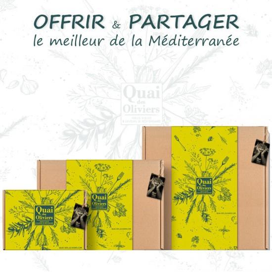Coffret cadeau huiles d'olive Lyon