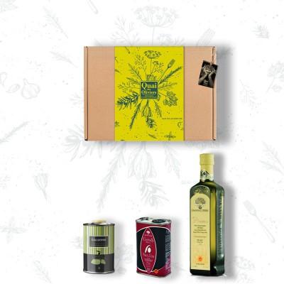 PACK INITIATION à l'huile d'olive Coffret cadeau