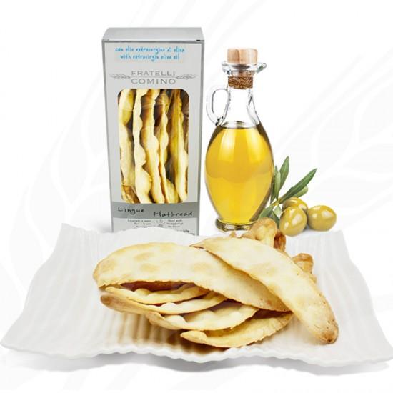 Lingue de suocera huile d'olive