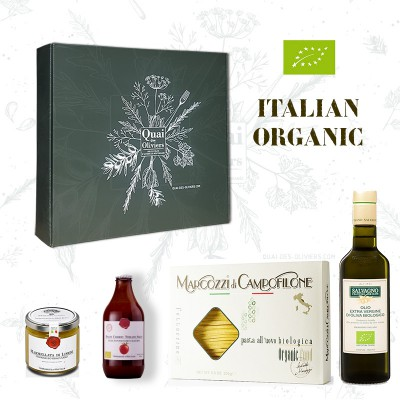 Coffret cadeau ITALIAN ORGANIC