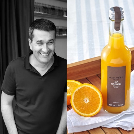 Alain Milliat le sommelier du fruit