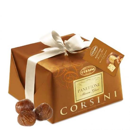 Panettone CORSINI aux marrons glaçés