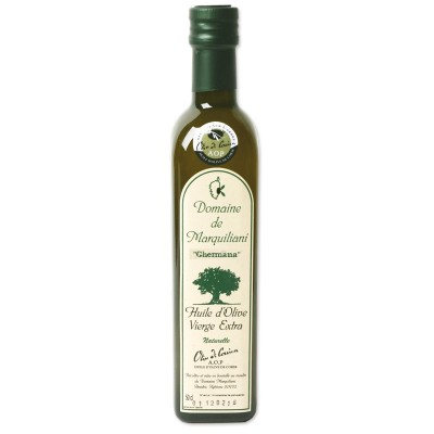Huile d'olive Corse Marquiliani cuvée Ghermana