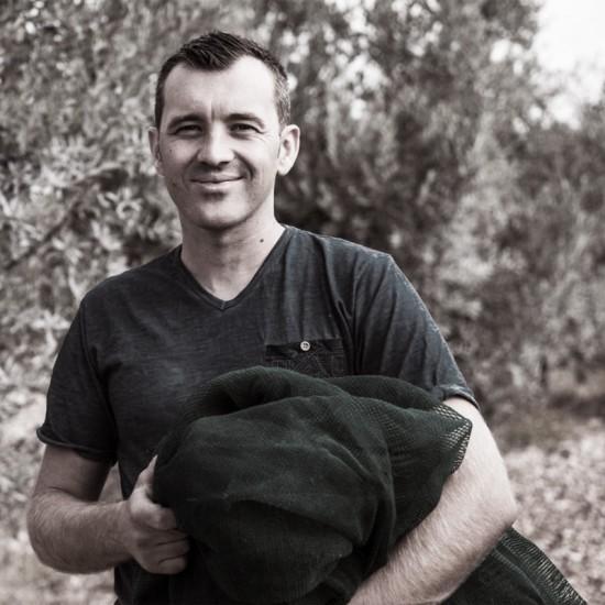 eric martin producteur d'huiles d'olive d'Ardèche