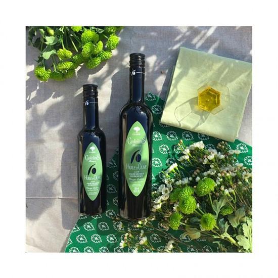 """Huile d'olive Castelas """"Fruité vert"""""""