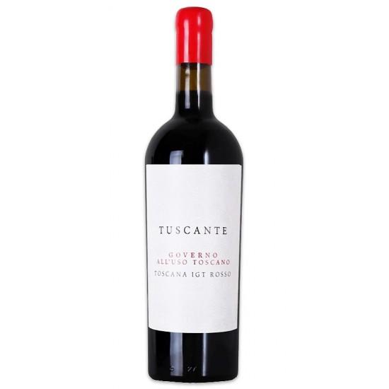 """Tuscante Rosso IGT Toscana """"Governo all'uso Toscano"""""""