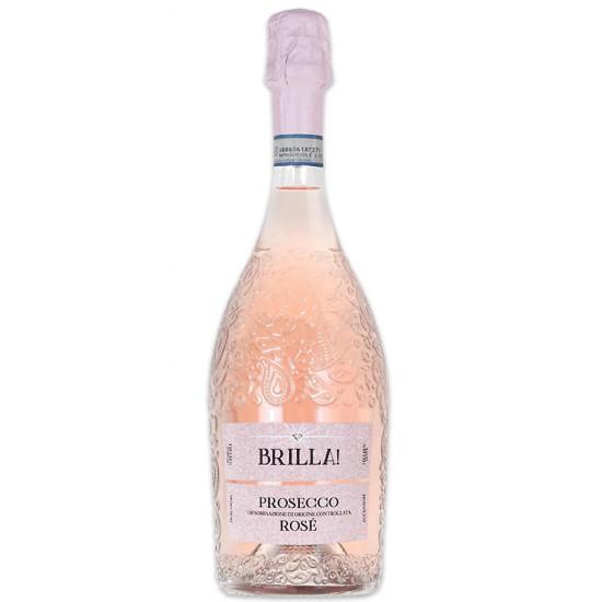 Prosecco rosé DOC Brilla! millésimé