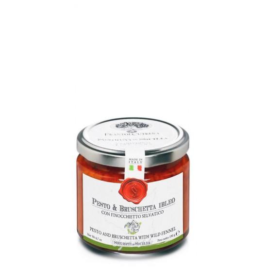 Pesto & Bruschetta Sicilien au fenouil sauvage