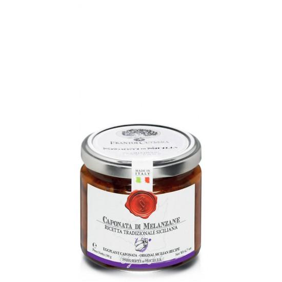 Caponata d'aubergines sicilienne