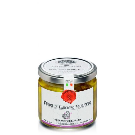 Coeurs d'artichauts violets de Sicile à l'huile d'olive Segredi di Sicilia