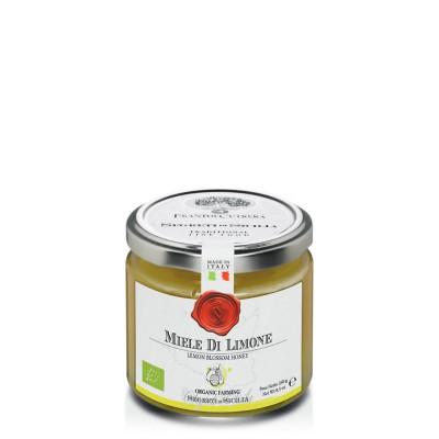 Miel de citronnier sicilien biologique