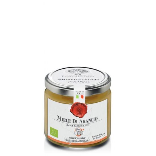 Miel d'oranger sicilien biologique