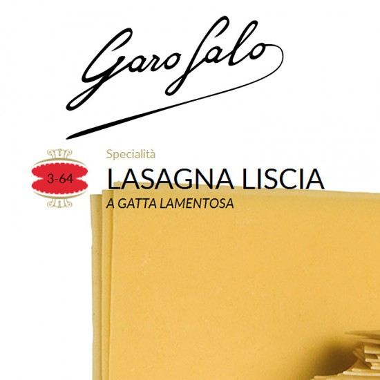 Lasagna liscia 364