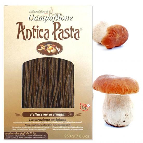 Fettuccine de Campofilone aux champignons