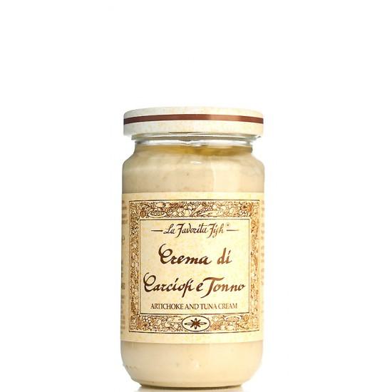 Crème d'artichauts au thon
