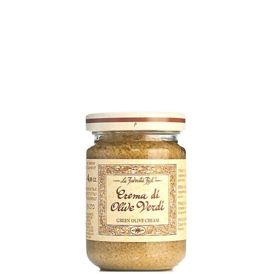 Crème d'olive verte