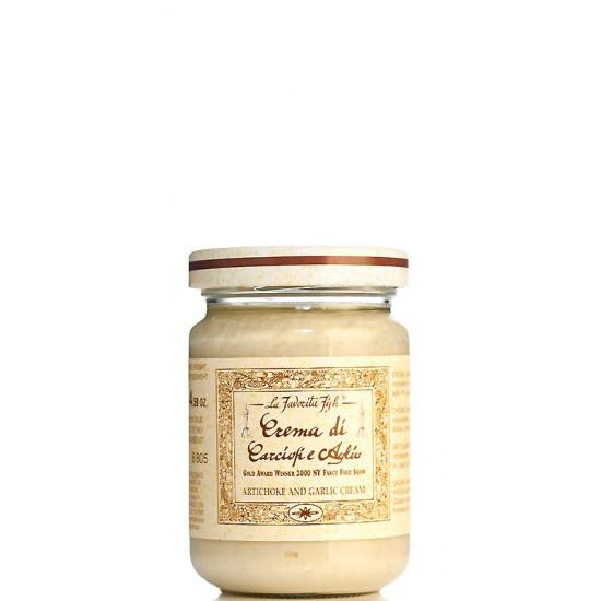 Crème d'artichaut à l'ail