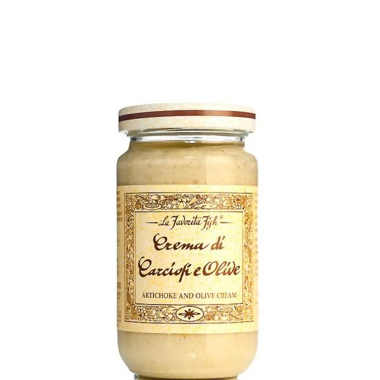 Crème d'artichaut et d'olive