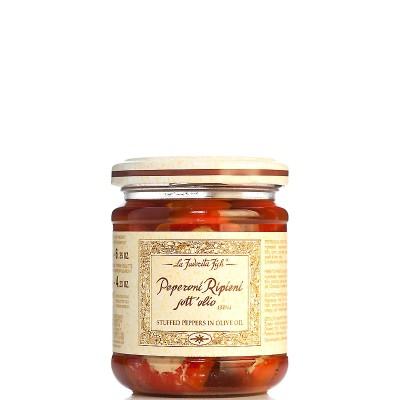 Piments farcis à l'huile d'olive