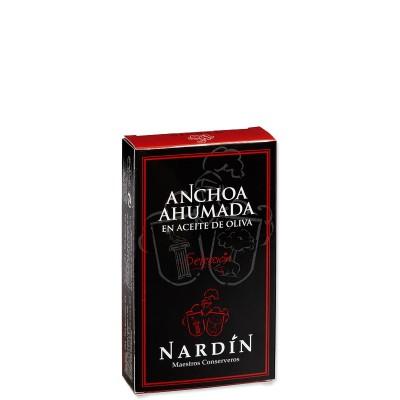 Anchois fumés à l'huile d'olive Nardin