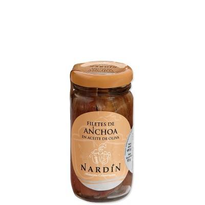 Anchois à l'huile d'olive Nardin