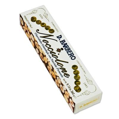 Barre de noisettes au chacolat Gianduja