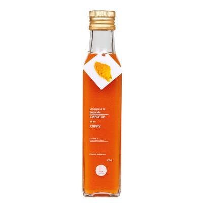 Vinaigre à la pulpe de carotte et au curry