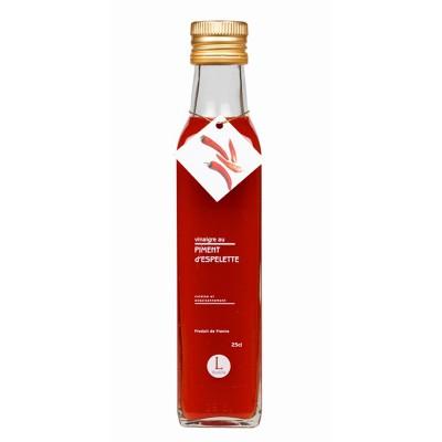 Vinaigre à la pulpe de piment d'Espelette