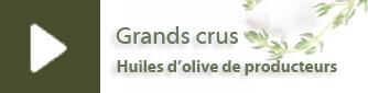 Huiles d'olive sélection Quai des Oliviers